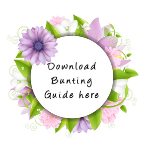 Download bunting guide here
